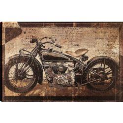 Art Maison Canada Antique Bike, Transportation Art, Canvas Print Wall Art Décor 24X36 Ready to hang