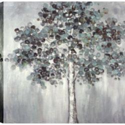 Art Maison Canada Poppy Trees I, Landscape Art, Canvas Print Wall Art Décor 24X24 Ready to hang