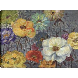 Art Maison Canada Floral Poppies II, Floral Art, Canvas Print Wall Art Décor 30X40 Ready to hang