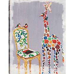 Art Maison Canada What colour do you want, Animal Art, Canvas Print Wall Art Décor 40X30 Ready to hang