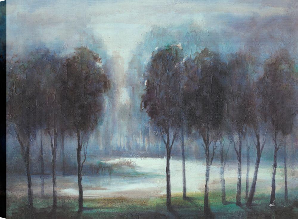 Art Maison Canada Close To Night, Landscape Art, Canvas Print Wall Art  Décor 30X40