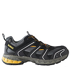 Torque Low *CSA approved* Men's (size 9.5) Steel Toe/Steel Plate Lightweight Athletic Work Shoe
