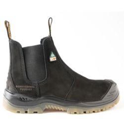 DEWALT Industrial Footwear Nitrogen *CSA approved* Men's (size 7) 6 inch. Steel Toe/Composite Plate, Side Gore/Slip-On Work Boot
