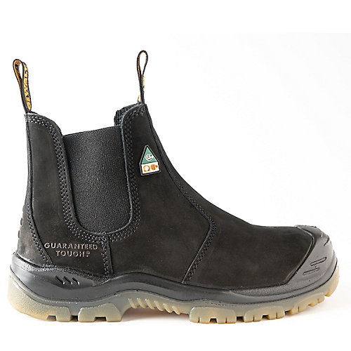 Nitrogen *CSA approved* Men's (size 8) 6 inch. Steel Toe/Composite Plate, Side Gore/Slip-On Work Boot