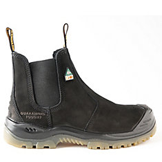 Nitrogen *CSA approved* Men's (size 8.5) 6 inch. Steel Toe/Composite Plate, Side Gore/Slip-On Work Boot