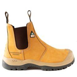 DEWALT Industrial Footwear Nitrogen *CSA approved* Men's (size 7.5) 6 inch. Steel Toe/Composite Plate, Side Gore/Slip-On Work Boot