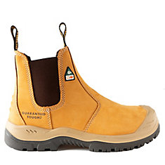 Nitrogen *CSA approved* Men's (size 8) 6 inch. Steel Toe/Composite Plate, Side Gore/Slip-On Work Boot