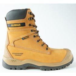 DEWALT Industrial Footwear Spark *CSA approved* Men's (size 8.5) 8 inch. Steel Toe/Composite Plate/Waterproof/Thinsulate Work Boot