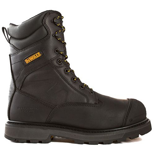 DEWALT Industrial Footwear Impact *CSA approved* Men's (size 10) 8 inch. Aluminum Toe/Composite Plate/Thinsulate Work Boot