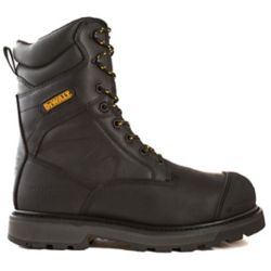 DEWALT Industrial Footwear Impact *CSA approved* Men's (size 10.5) 8 inch. Aluminum Toe/Composite Plate/Thinsulate Work Boot