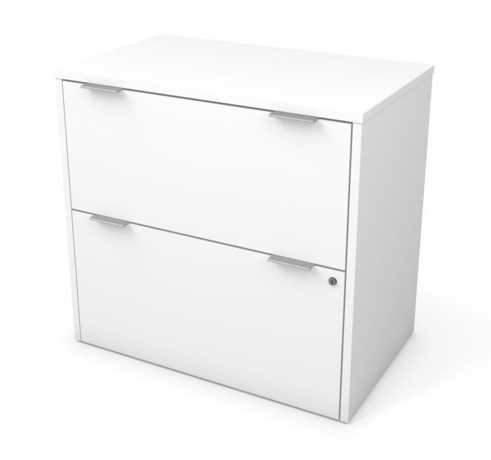 Bestar i3 Plus Lateral File in White