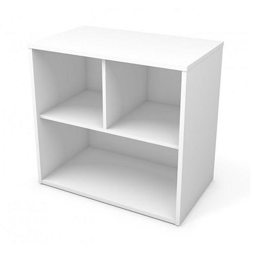 Bestar i3 Plus Storage Unit in White
