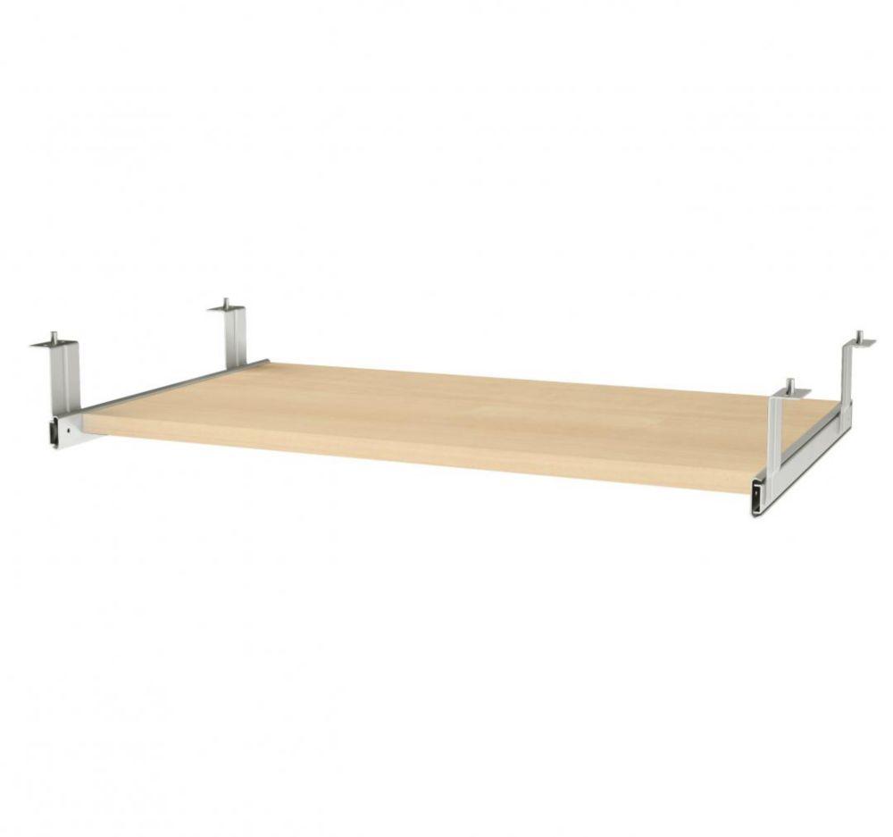 Bestar i3 Plus Keyboard Shelf in Northern Maple