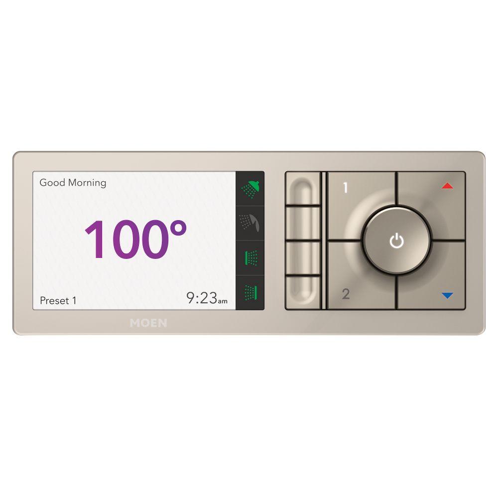 Moen U by MOEN 4-Outlet Digital Shower Controller in Terra Beige (Valve Sold Separately)