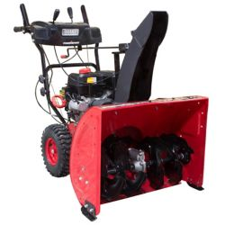 PowerSmart 27 inch 212cc 2-Stage Electric Start Gas Snow Blower