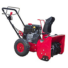 22 inch 2-Stage Manual Start Gas Snow Blower
