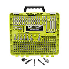 Set of steel drive tips (150 pieces)
