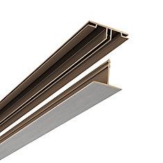 Surface Mount Kit, Brushed Nickel Finish, 100sq/ft kit