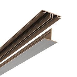 Ceilingmax Surface Mount Kit, Brushed Nickel Finish, 100sq/ft kit