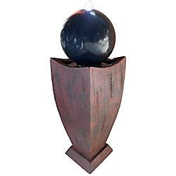 Angelo Décor Fontaine Tallulah de 98 cm avec pompe et lumières