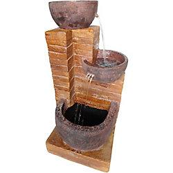 Angelo Décor Fontaine Kalura de 70 cm avec pompe