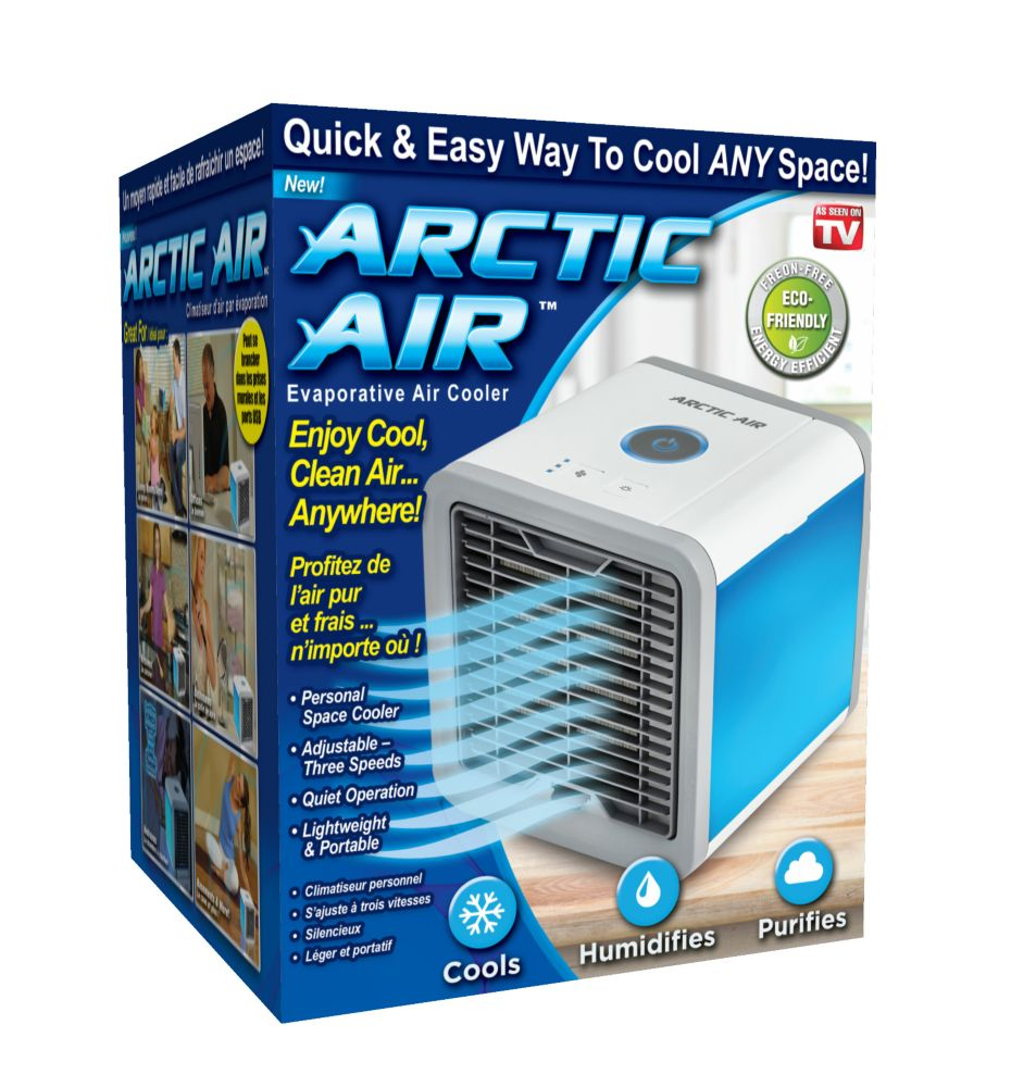 Arctic Air Ultra 250CFM 3 Speed Portable Evaporative Cooler for 45 sq. ft. Space