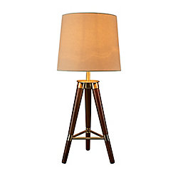L2 Lighting 28 inch tripod Table lamp
