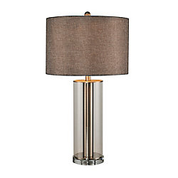 L2 Lighting 27,5 inch Glass Table lamp