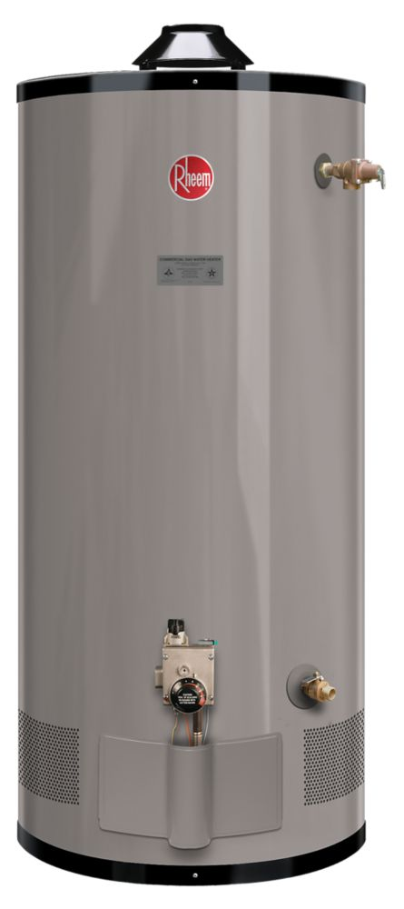 Rheem Commercial 75 Gal Propane Water Heater