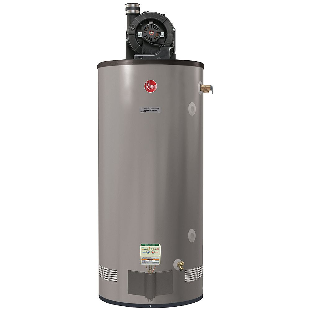 Rheem Commercial 75 Gal Gas Powervent Water Heater