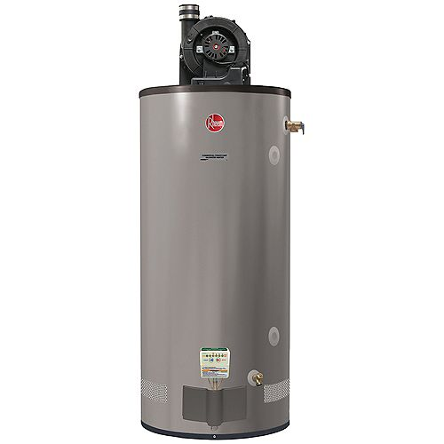 Rheem 75 Gallon Commercial Propane Powervent Water Heater