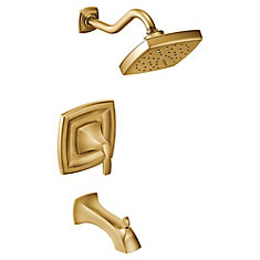 Voss Moentrol Single-Handle Tub and Shower Faucet Trim Kit in Brushed Gold