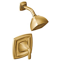 Voss Single-Handle Posi-Temp(R) Shower Only Tim Kit in Brushed Gold