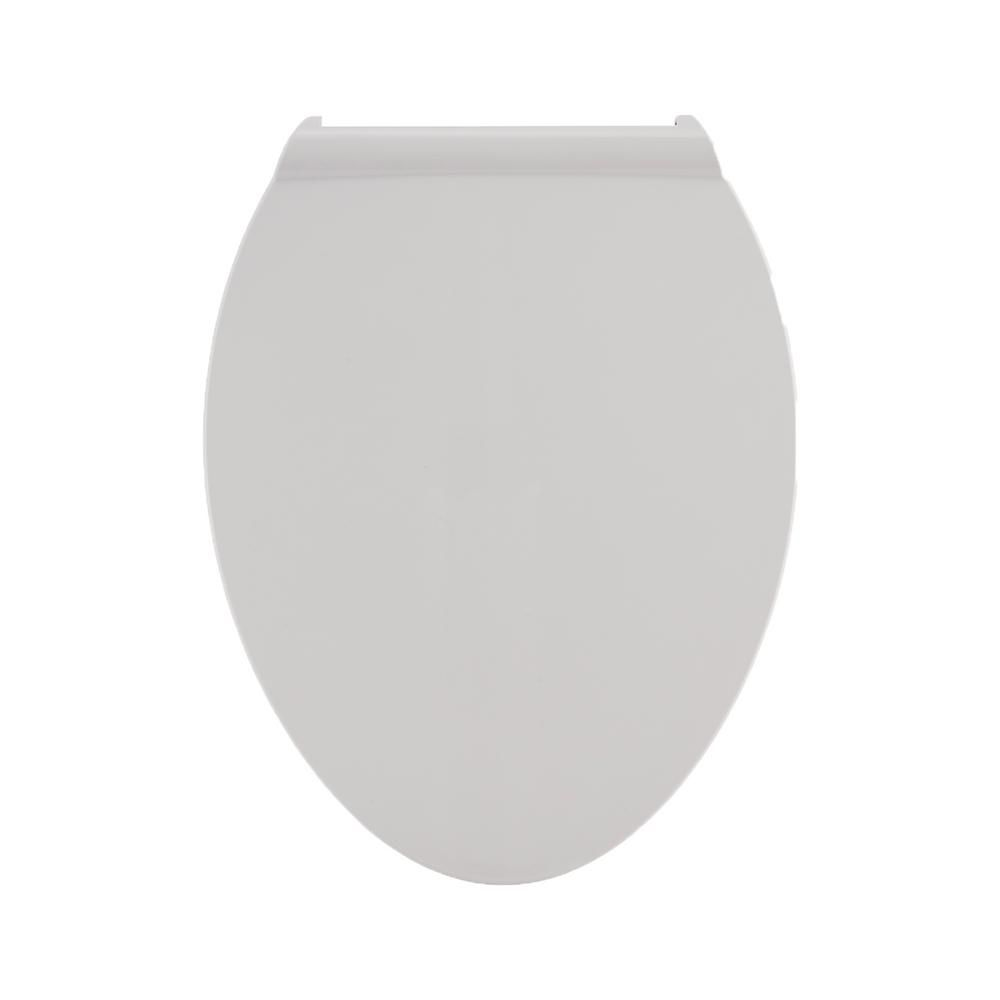 American Standard Fluent Elongated Slow Close Front Toilet Seat in White