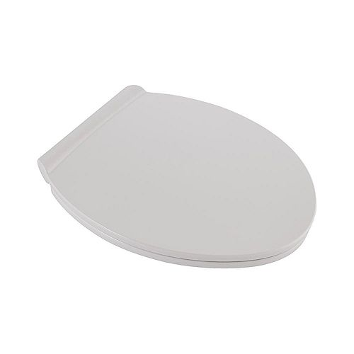 American Standard Fluent Round Slow Closed Front Toilet Seat in White