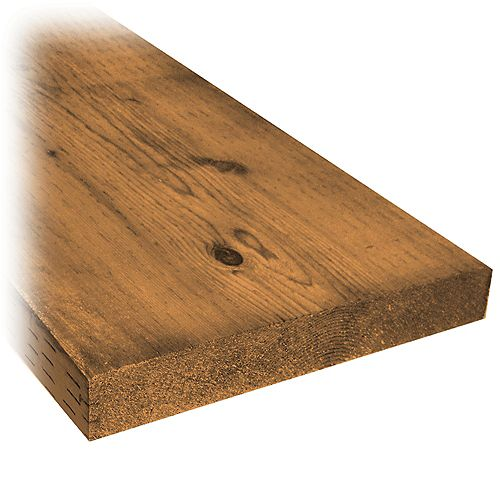 Micro Pro Sienna 2 x 12 x 8 ft. Treated Wood