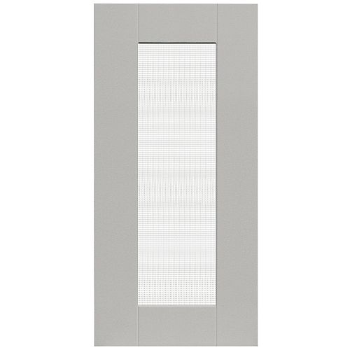 Eurostyle Cambridge - Glass Door 15 inch x 30 inch - Painted Canadian Grey