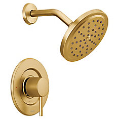 Align Moentrol Tub and Shower Trim Kit in Brushed Gold