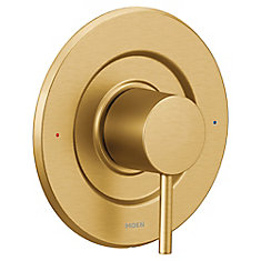 Align Moentrol Single-Handle Valve Trim Kit in Brushed Gold (Valve Not Included)