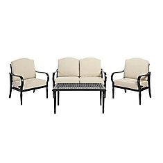 Laurel Oaks 4-Piece Patio Deep Seating Set