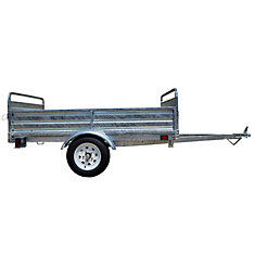 5ft x 7ft Multi Purpose Utility Trailer Kits - Galvanized
