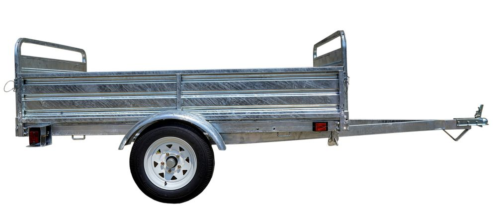 DK2 5ft x 7ft Multi Purpose Utility Trailer Kits - Galvanized