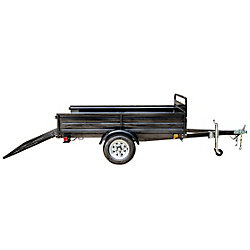 DK2 5ft x 7ft Multi Purpose Utility Trailer Kits - WITH DRIVE UP GATE