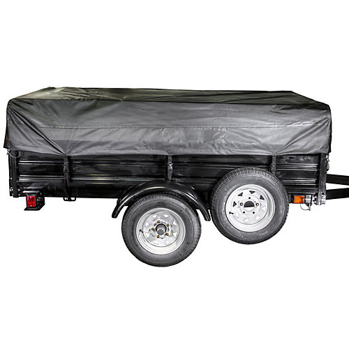Trailer Spare tire kit - 5.3 inch. x 12 inch. DOT TIRE & cover