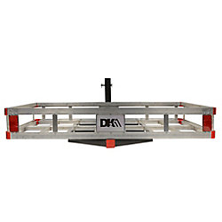 DK2 Hitch Mounted Aluminum Cargo Carrier