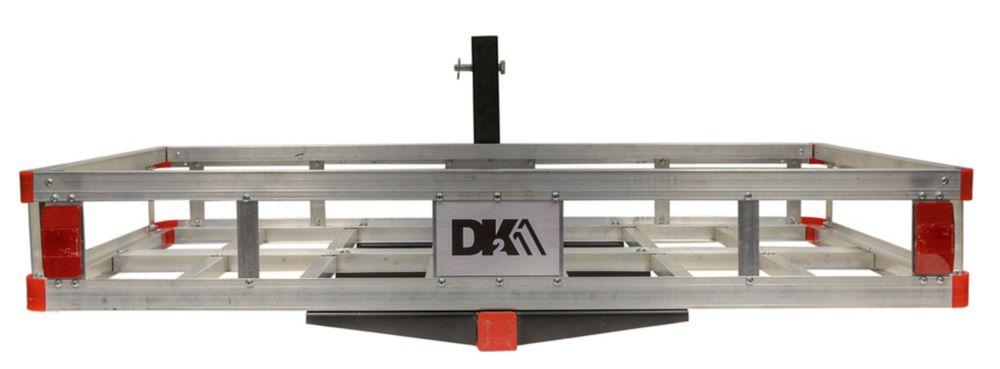 DK2 Hitch Mounted Aluminum Cargo Carrier
