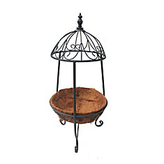 Decorative Cap Metal Plant Stand