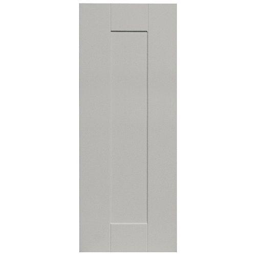 Eurostyle Cambridge -Corner Door 12 inch x 30 inch - Painted Canadian Grey