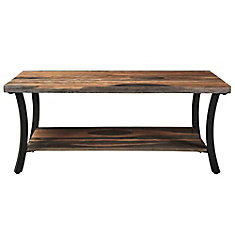 Surin Solid wood/Iron Coffee Table