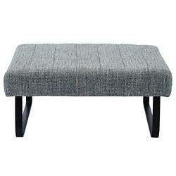 !nspire Sirus Fabric Cocktail Ottoman, Grey blend